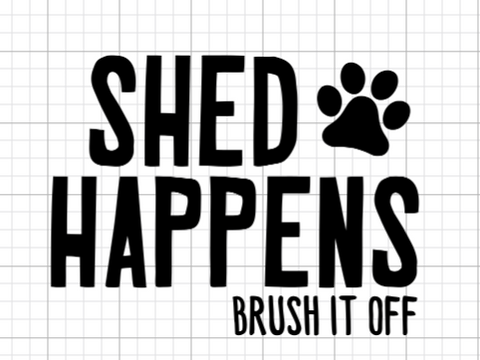 Shed Happens Decal Add-On