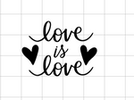 Love is Love Decal Add-On