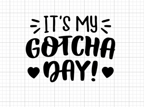 Gotcha Day Decal Add-On