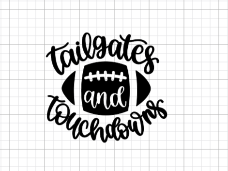 Tailgates & Touchdowns Decal Add-On