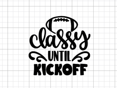 Classy Until Kickoff Decal Add-On