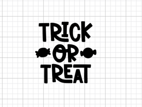 Trick or Treat Decal Add-On
