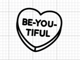Be-You-Tiful Decal Add-On