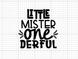 Little Mister One-Derful Decal Add-On