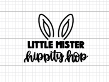Little Mister Hippity Hop Decal Add-On