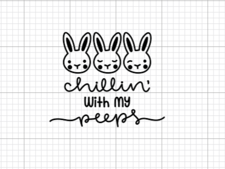 Chillin' With My Peeps Decal Add-On