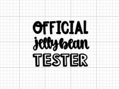 Official Jelly Bean Tester Decal Add-On