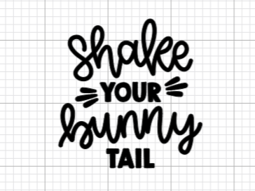 Shake Your Bunny Tail Decal Add-On