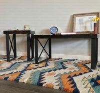 "2 Pack- Square River Coffee Table Leg (3"" Wide - 1/4"" Thick) (Multiple Sizes Available) OPTION #1"