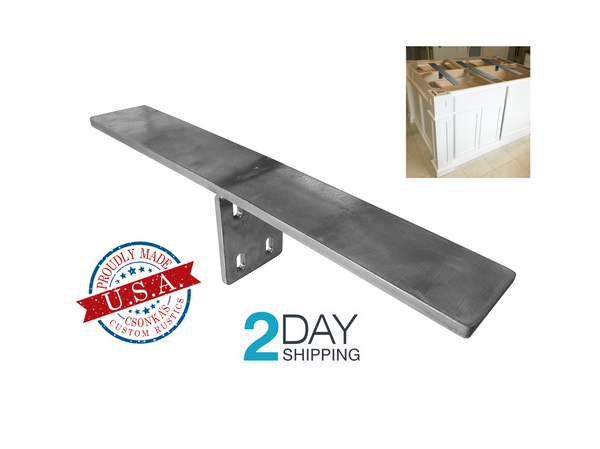 T Mount Countertop Bracket