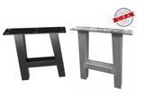 A-Style Table Square Tubing Metal Leg (SINGLE)