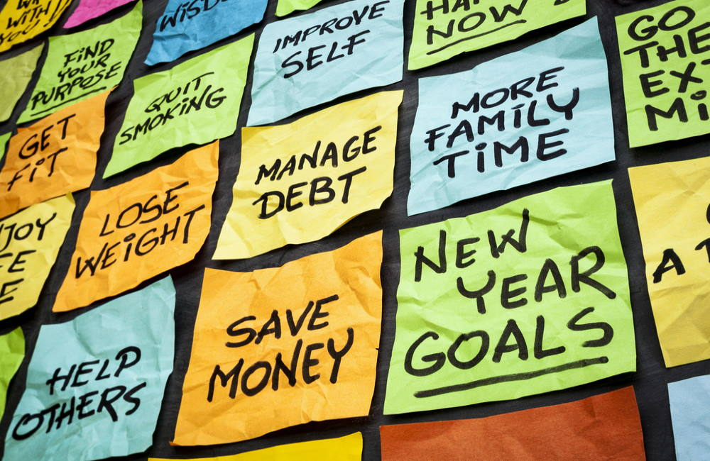 How to Achieve Your New Year's Resolutions | Goals for The New Year