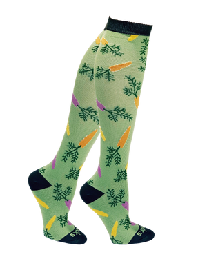 Holiday Compression Socks Unisex | Carrots