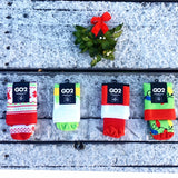 Holiday Compression Socks Unisex | Holiday Lights
