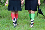 Holiday Compression Socks Unisex | Green Ooze
