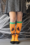 Holiday Compression Socks Unisex | Jack-O-Lantern