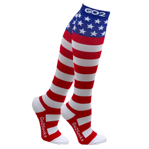 Holiday Compression Socks Unisex | Stars and Stripes