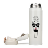 Girl Boss Thermal Insulated Water Bottle 17oz