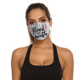 Good Heart Face Mask