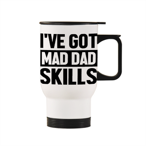 Mad Dad Skills Travel Mug 14.8oz