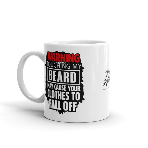 Beard On, Clothes Off Mug