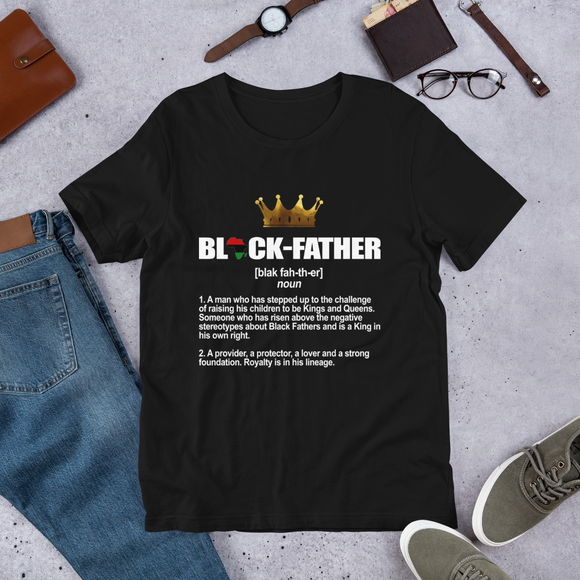 Black Father T-Shirt