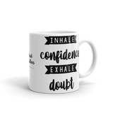 Inhale/Exhale Mug