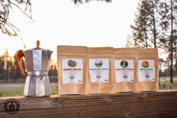 4 Single Origin Bean Coffee Sampler Gift