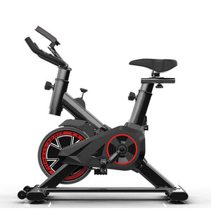 Indoor Fitness Spinning Bike Resistence Adjustment Max Capacity 330 Lbs