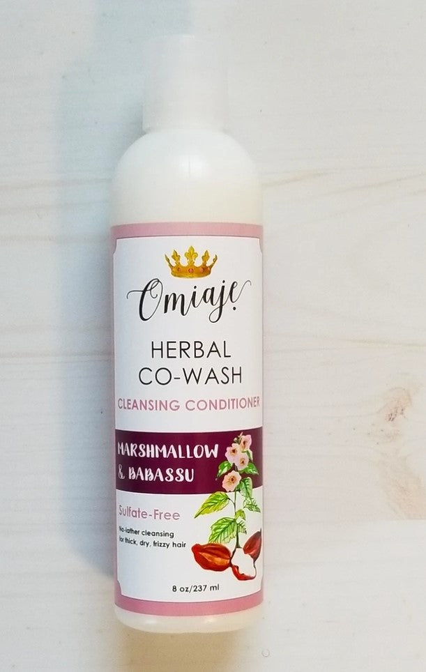 8oz Marshmallow & Babassu Herbal Co-Wash