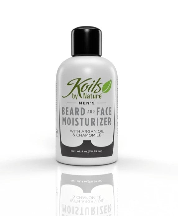 Beard & Face Moisturizer with Argan Oil & Chamomile