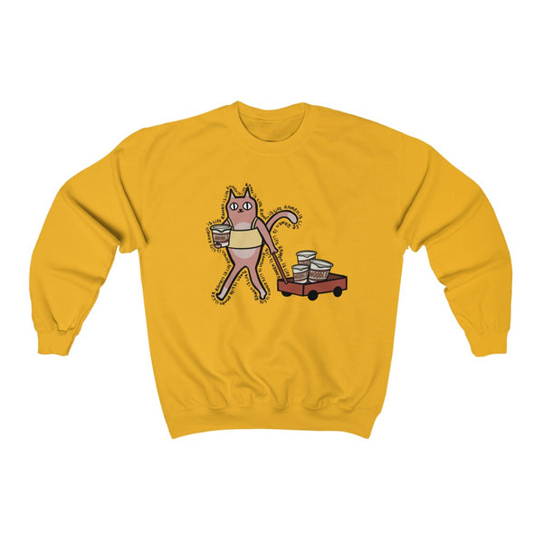 TUBE TOP TOM Unisex Crewneck Sweatshirt SL design