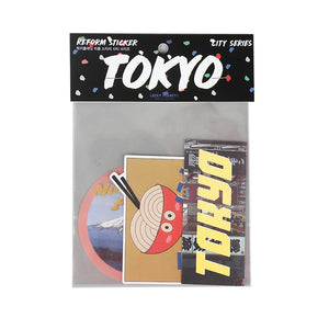TOKYO MOOD TOKYO LUGGAGE STICKERS