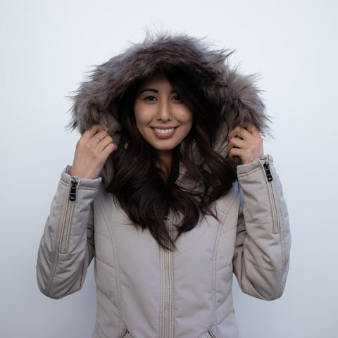 GLOBAL MOOD WINTER HOODED COAT