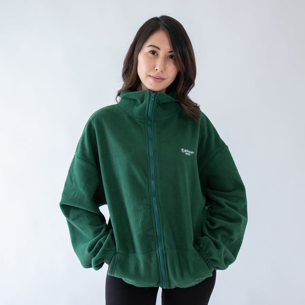 GLOBAL MOOD WINTER GREEN JACKET