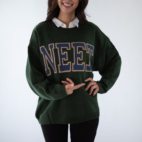 GLOBAL MOOD NERDY NEET SWEATER