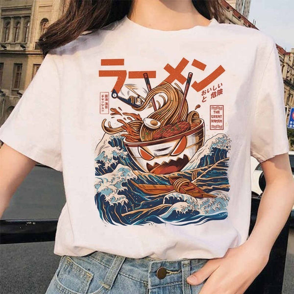 ANGRY RAMEN T-SHIRT MOOD GLOBAL JAPANESE TEE SHIRT