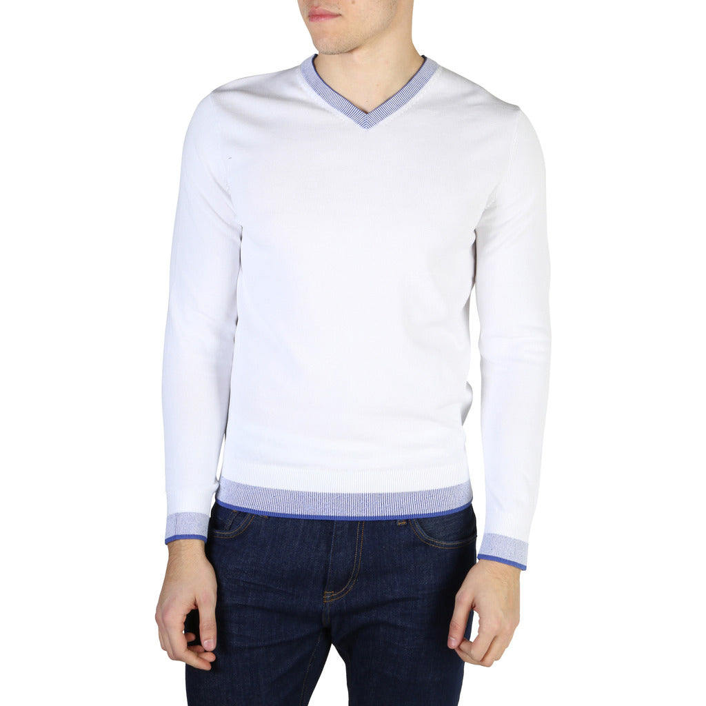 Tommy Hilfiger - MEN'S WHITE LONG SLEEVE
