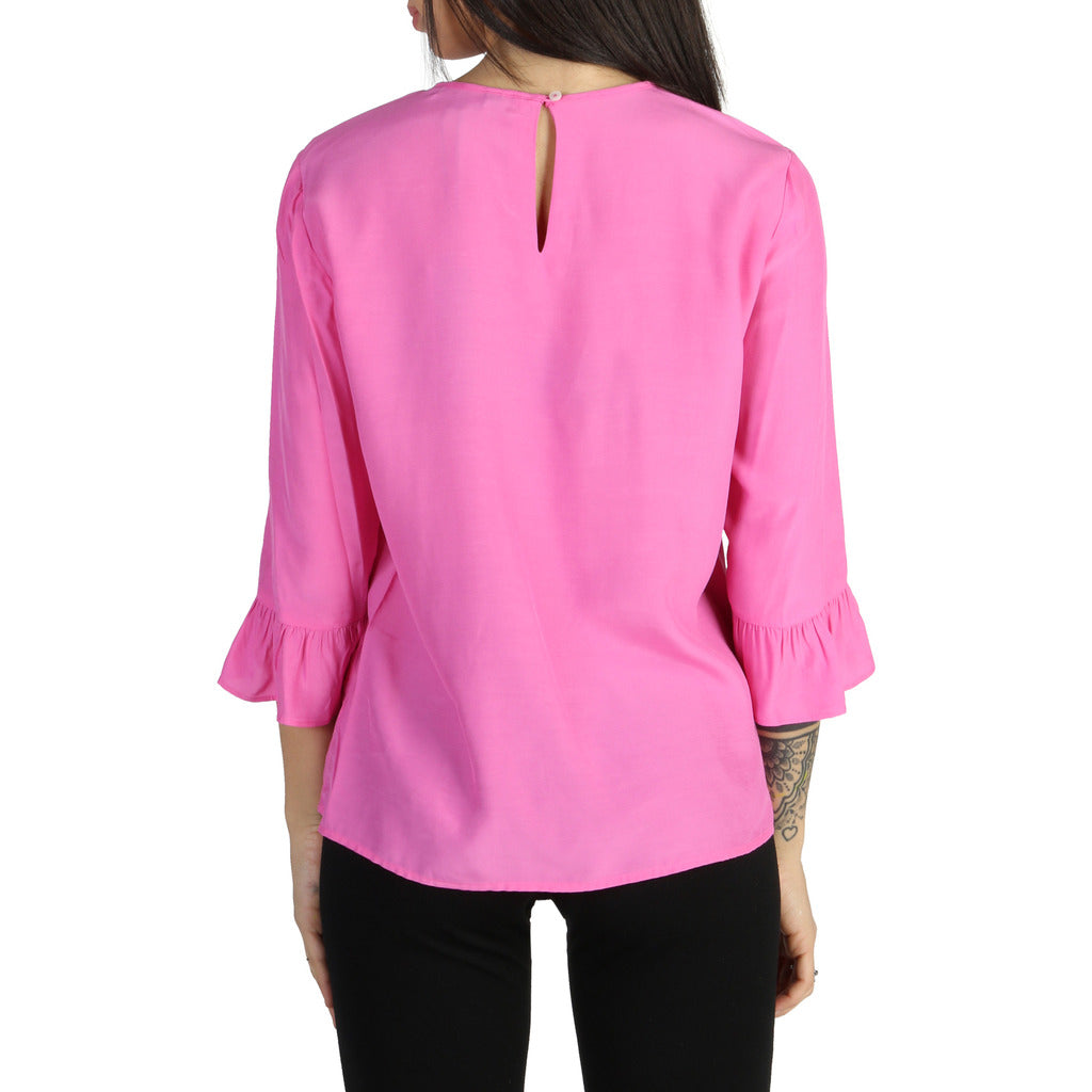 Tommy Hilfiger - PINK BELL SLEEVE TOP