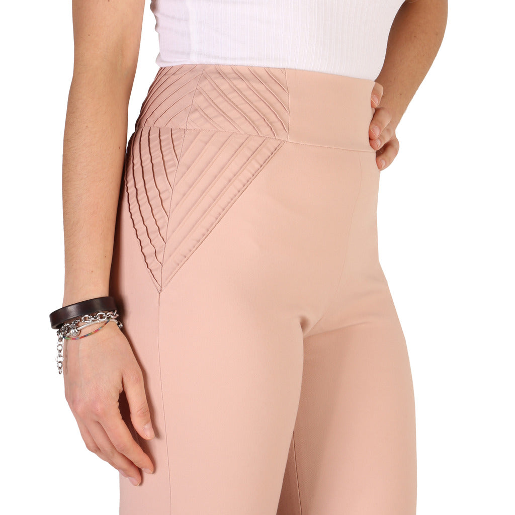 Guess - Women's Pink Zip Trousers