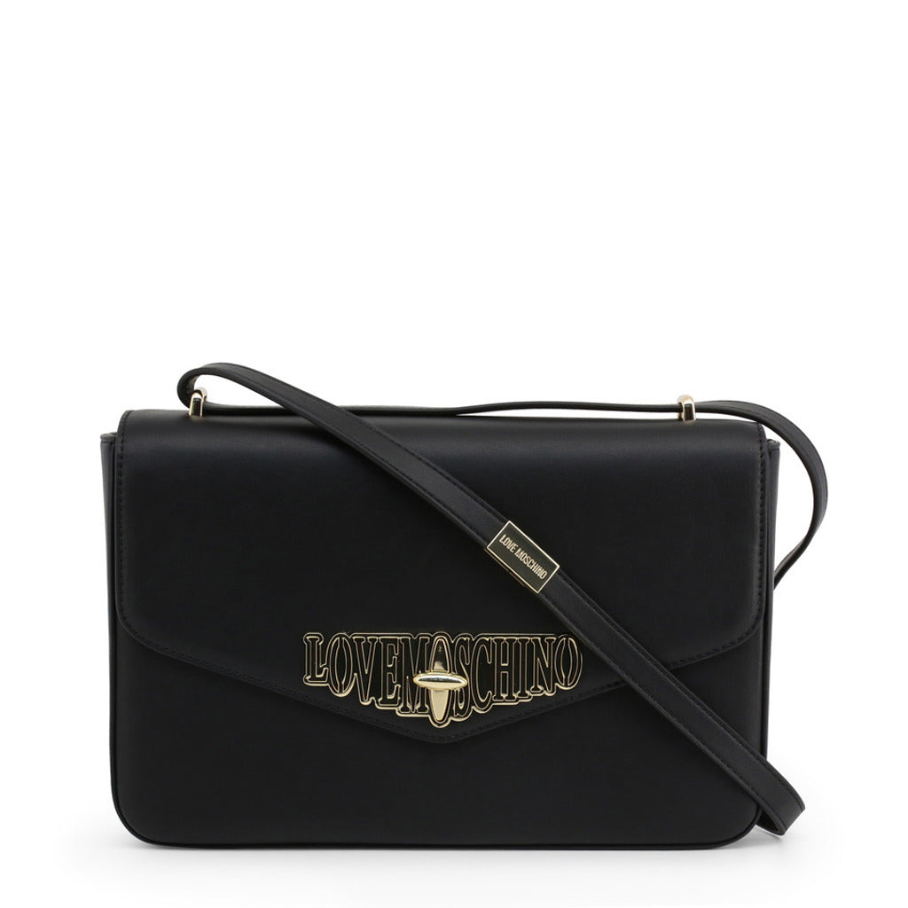 Love Moschino - METALLIC LEATHER CROSSBODY