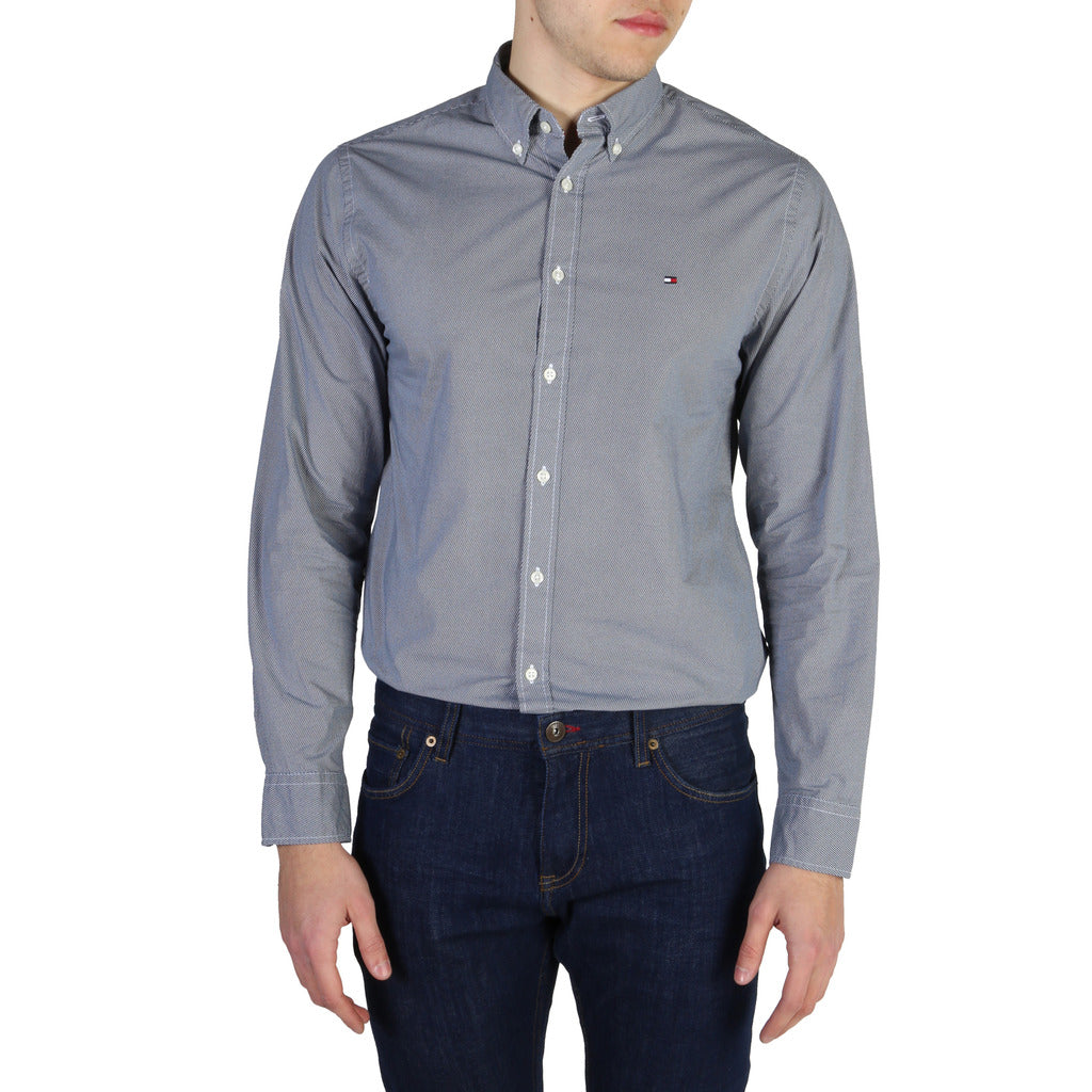 Tommy Hilfiger - GREY DRESS SHIRT