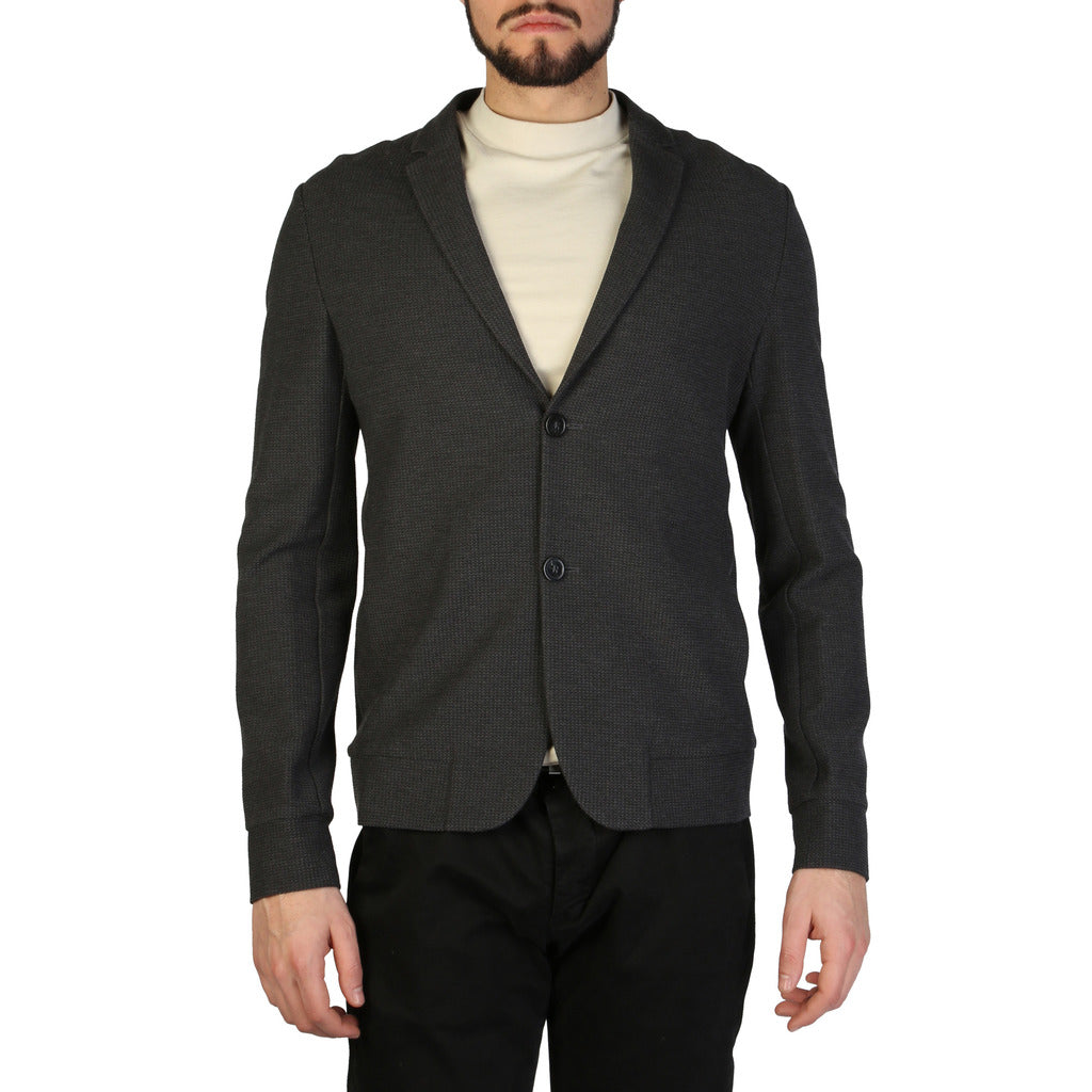 Emporio Armani - MEN'S CARDIGAN, GREY