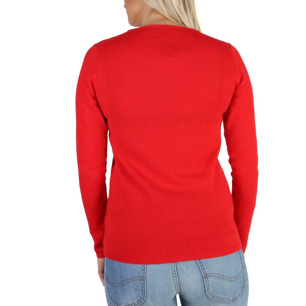 Tommy Hilfiger Cashmere Women's Sweater - Women's Red Sweater