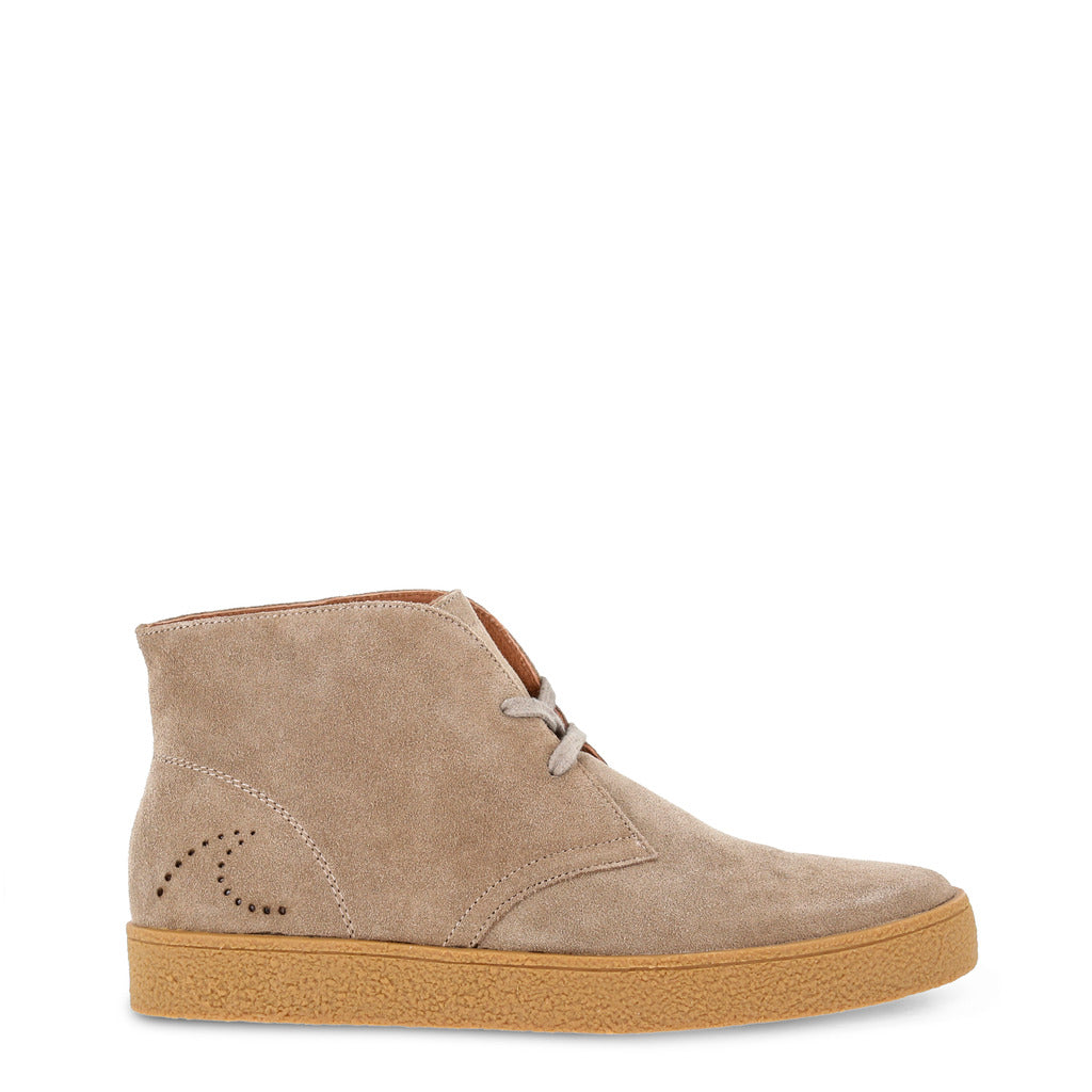 Docksteps - Men Laced Shoes, Brown