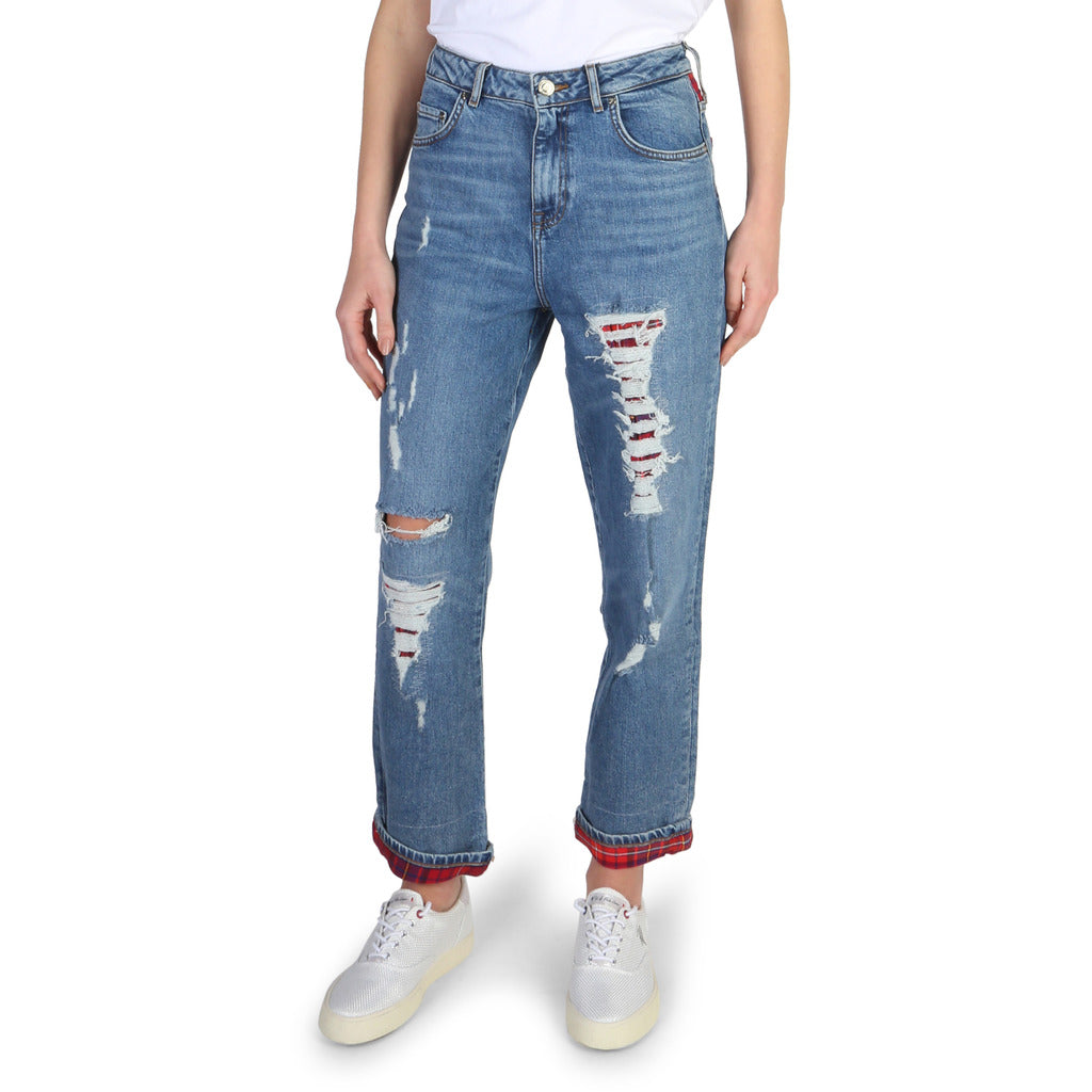 Tommy Hilfiger - WOMEN'S RIPPED JEANS