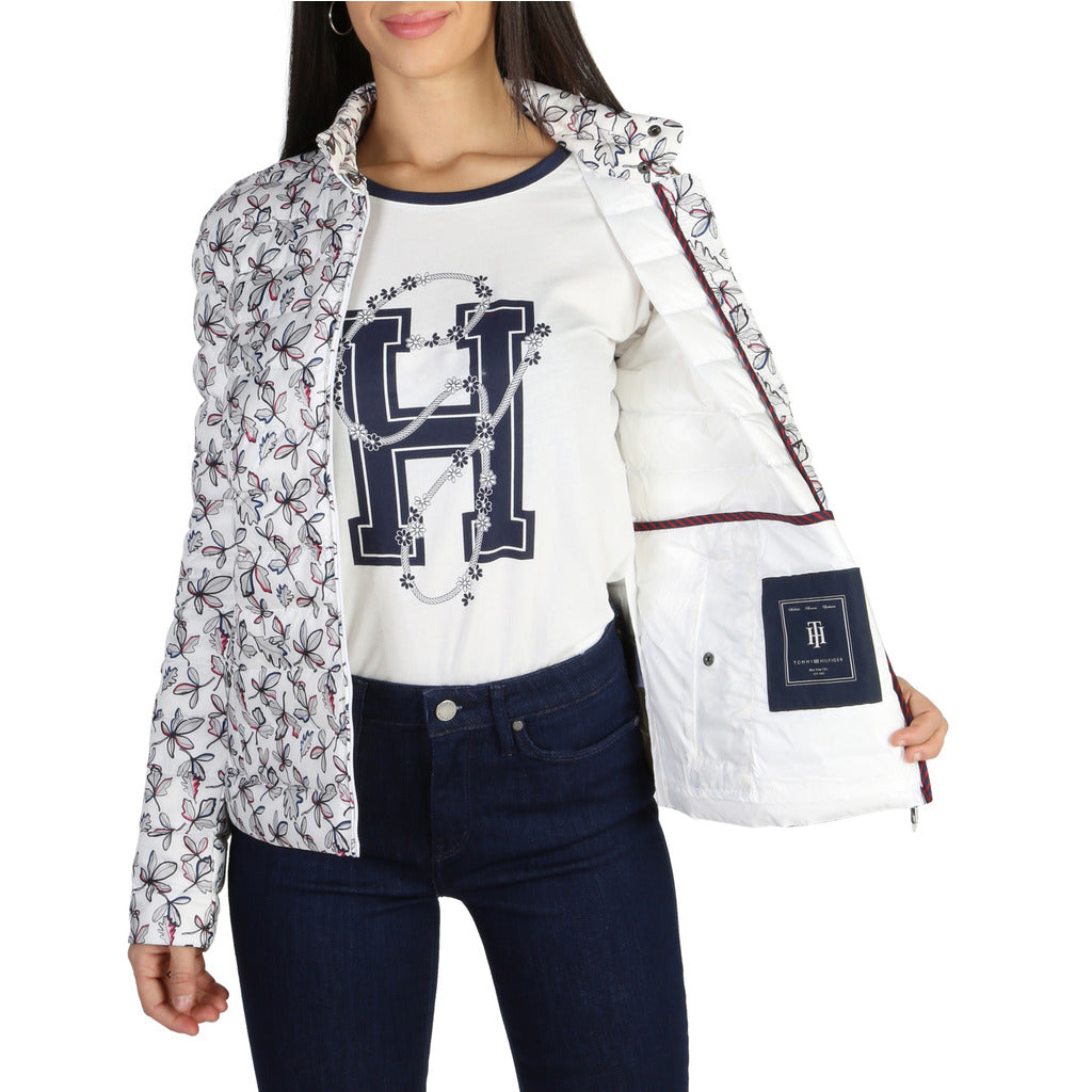 Tommy Hilfiger - WOMEN'S WHITE BOMBER