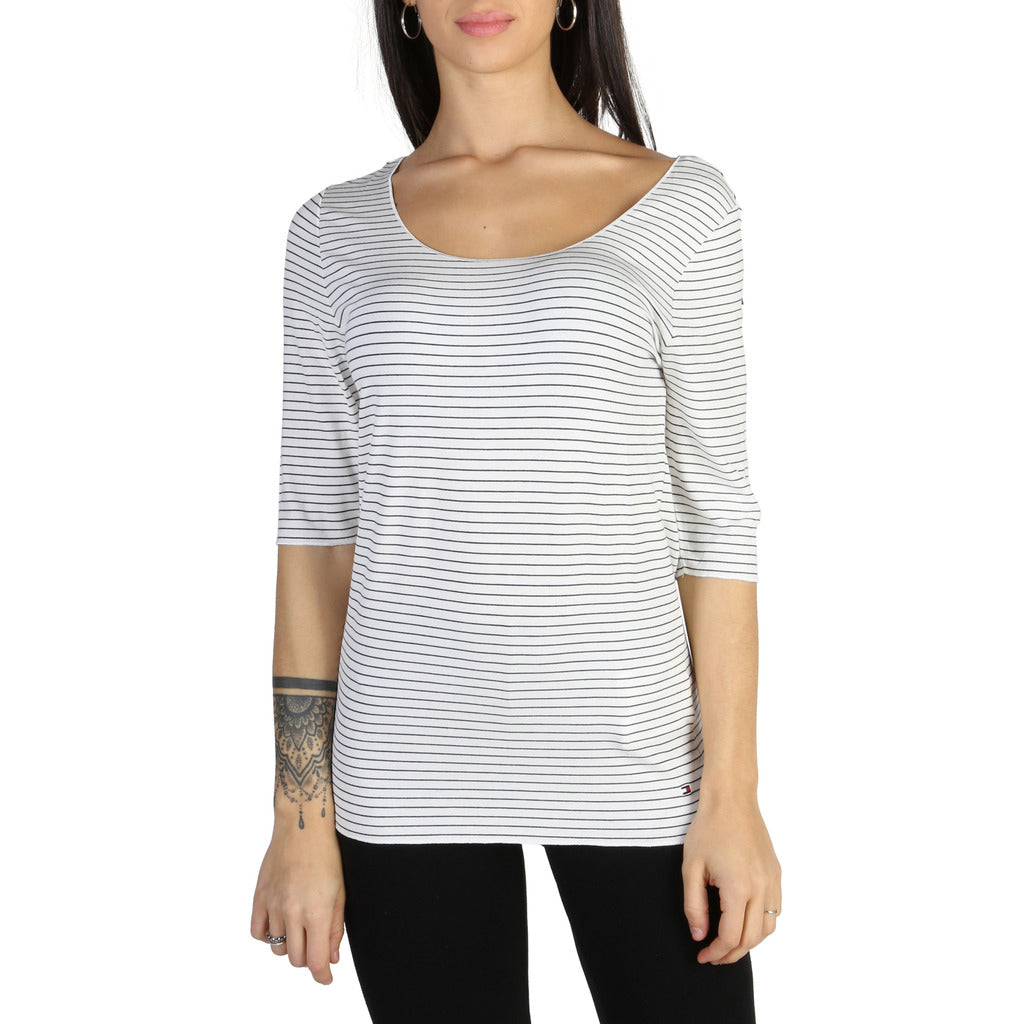 Tommy Hilfiger - ROUND NECK TOP
