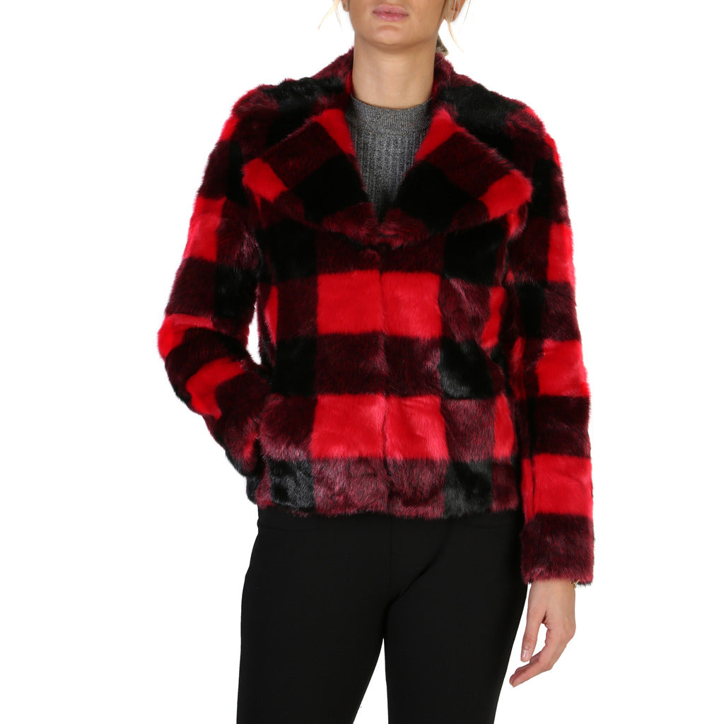 Guess - RED STRIPED COAT