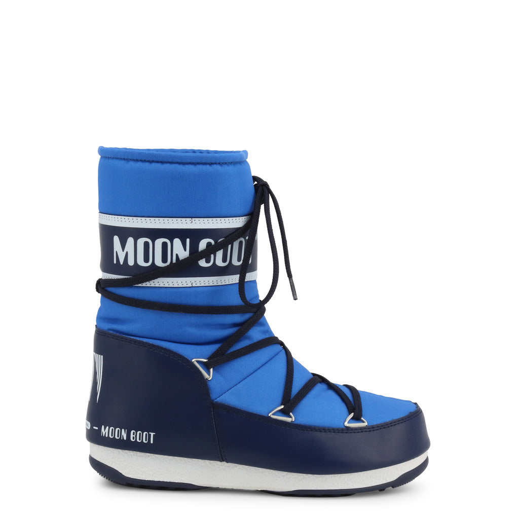 Moon Boot - Blue Lace Up Boot